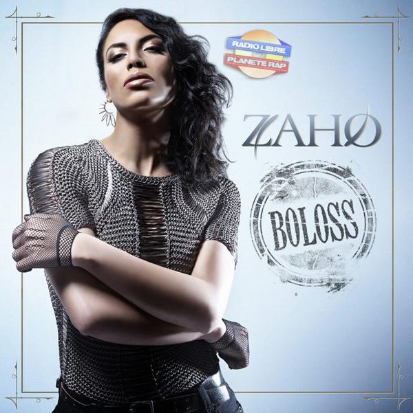 La pochette de « Boloss », le prochain single de Zaho !