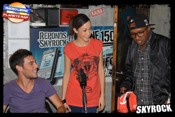 Kenza Farah et Soprano de passage dans la Radio Libre !