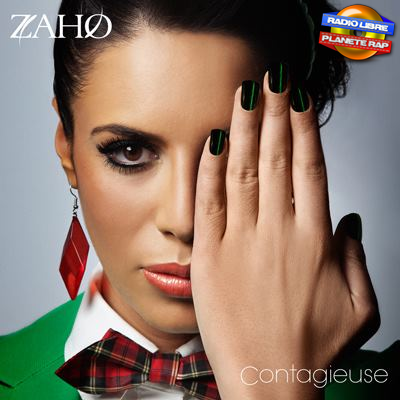 La pochette de « Contagieuse », le prochain album de Zaho !