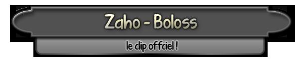 Zaho - Boloss (clip officiel)