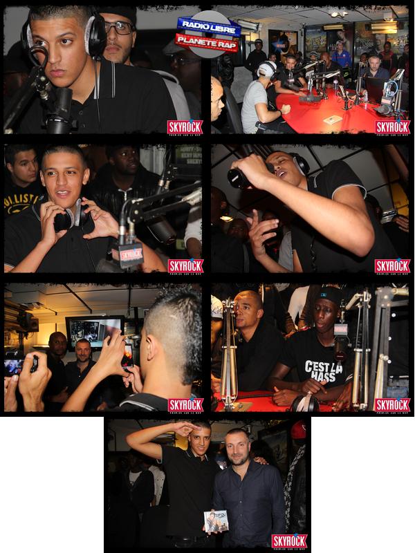 Zifou dans Planète Rap, les photos (09/10/12) !