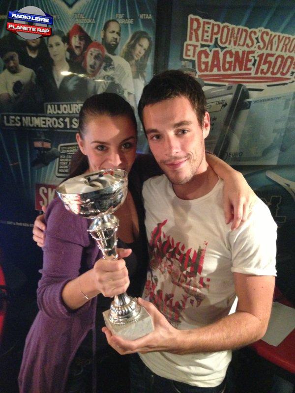Victoire de Marie & Samy au Clash de la Drague !