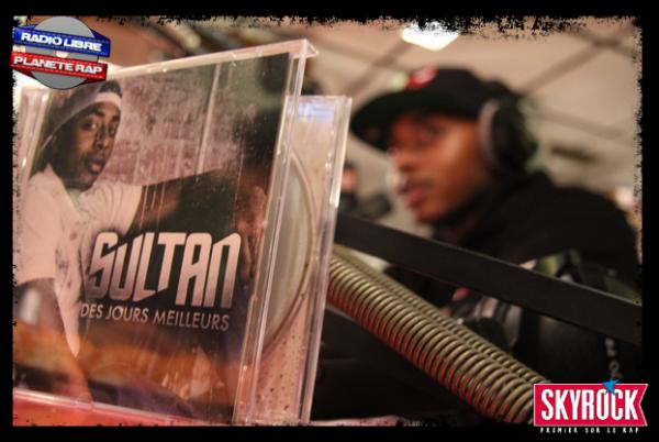 Sultan dans Planète Rap, les photos (05/11/12) !