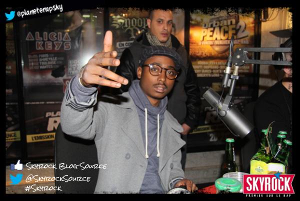 Guizmo dans Planète Rap, les photos (12/11/12) !