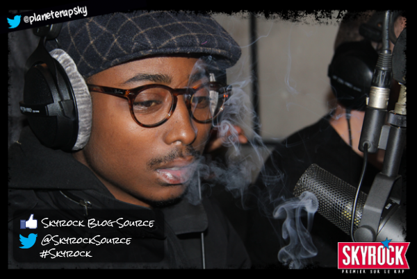 Guizmo dans Planète Rap, les photos (13/11/12) !