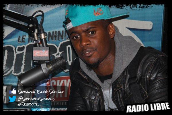Black M de passage dans la Radio Libre !
