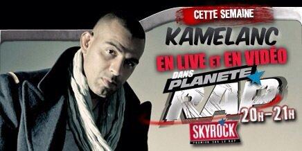 Kamelanc' débarque toute la semaine prochaine dans Planète Rap !