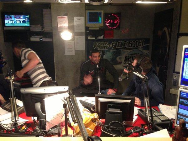Kamelanc' de passage dans la Radio Libre