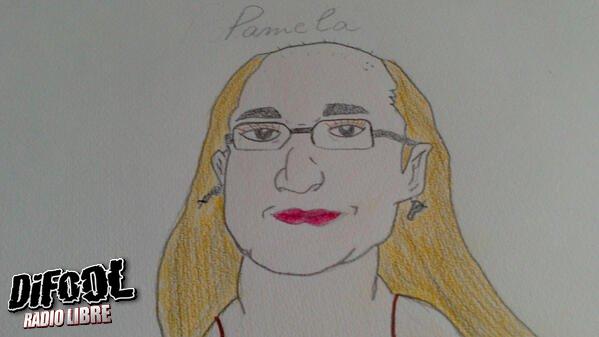 Un magnifique dessin de Pamela