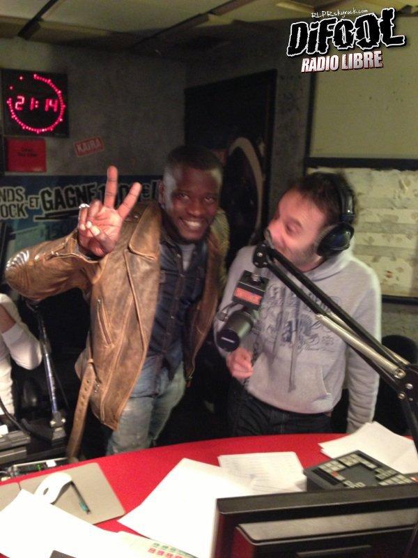 H Magnum de passage dans la Radio Libre