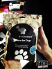 L'équipe mange des pop-corn pour chiens !