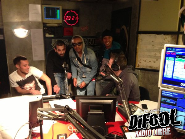 Les Psy 4 de la Rime de passage dans la Radio Libre !