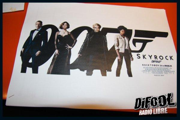 L'équipe de la Radio Libre en mode James Bond !