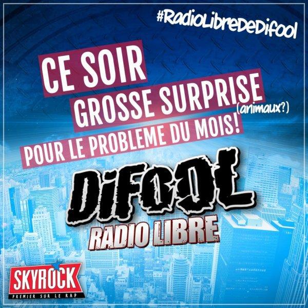 Radio Libre | Ce soir, surprise avec le Problème du Mois !