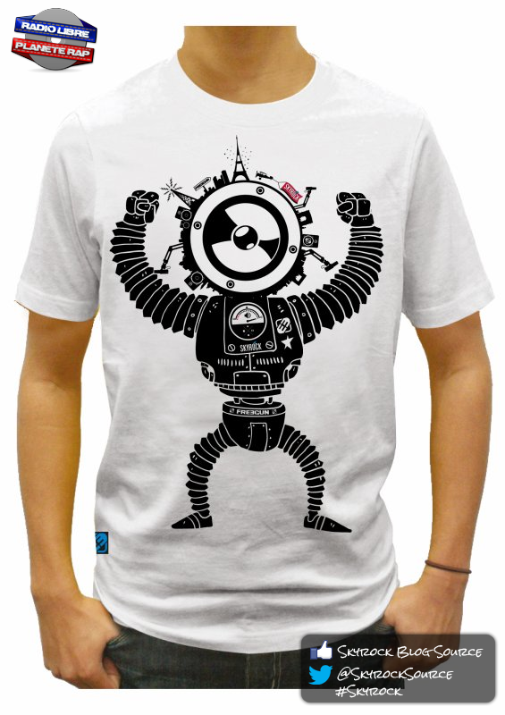 Radio Libre | Les t-shirt Skyrock