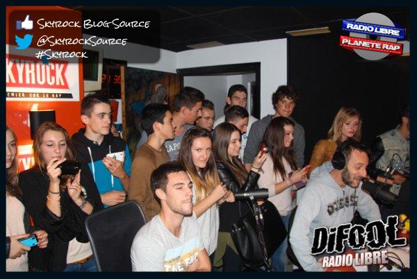 Radio Libre | Le studio envahi par des lycéens bretons