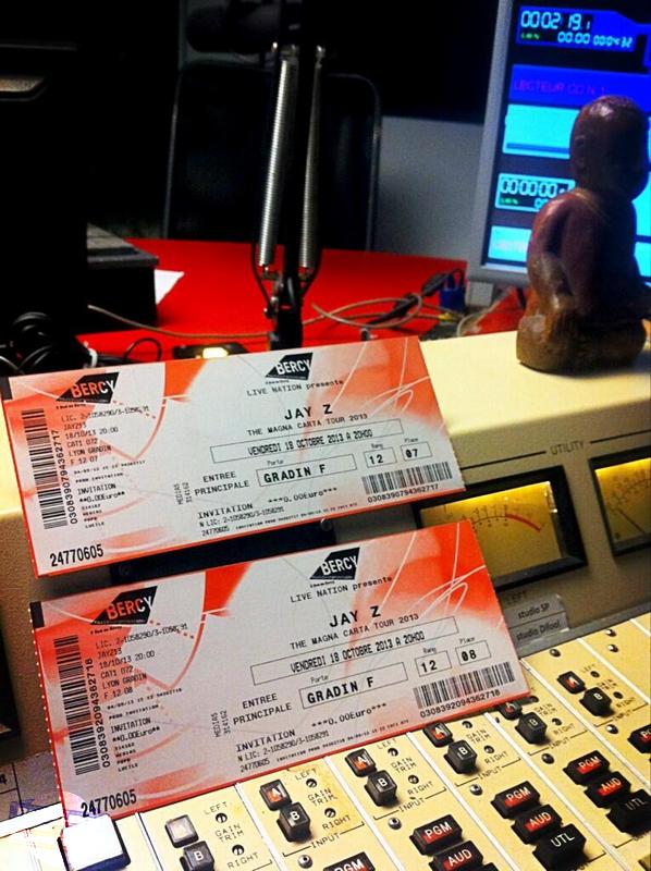 Concert | Les dernières places pour Jay-Z ce soir ont été gagnées !