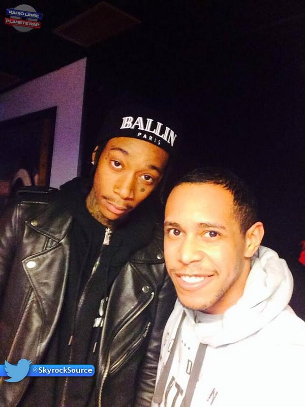 Wiz Khalifa était avec M'Rik !