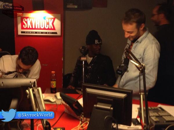 Radio Libre | Black M dans l'émission !