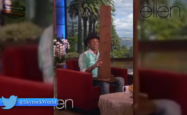 Pharrell Williams | Un cadeau surprenant au Ellen Show !