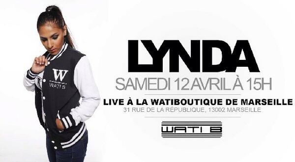 Lynda Sherazade | En live à la Wati Boutique de Marseille demain