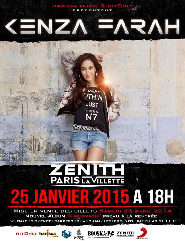 Kenza Farah | Concert au Zénith de Paris !