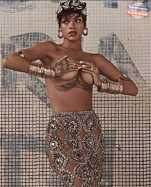 Rihanna | Un shooting pour Vogue Brésil