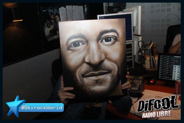 Radio Libre | Un super portrait de Difool