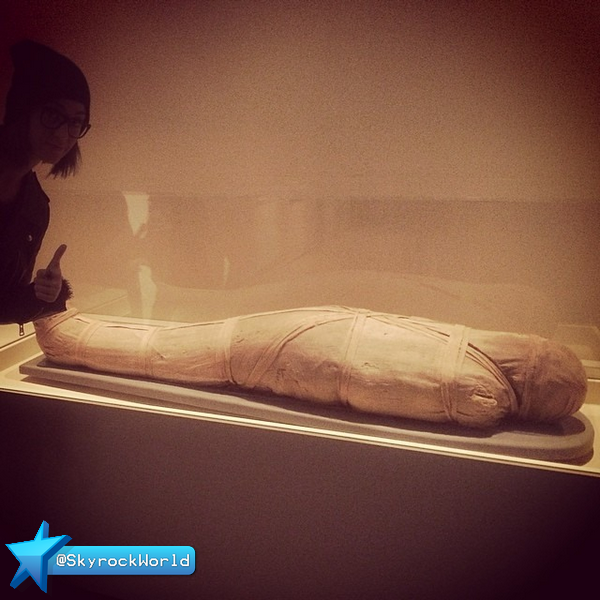 Katy Perry | En visite au British Museum