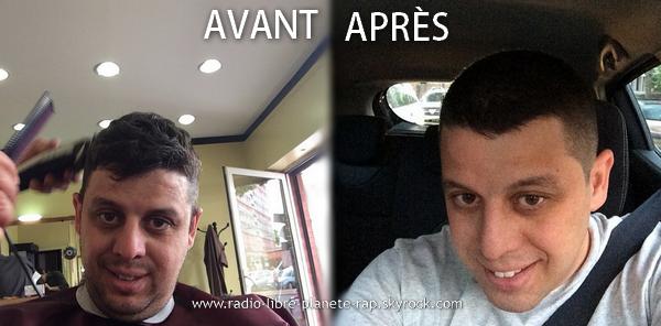 Radio Libre | Rasage des cheveux pour Cédric