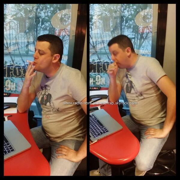 Radio Libre | Cédric essaye de fumer