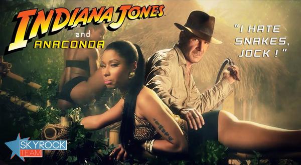 Nicki Minaj | Bientôt dans Indiana Jones ?!