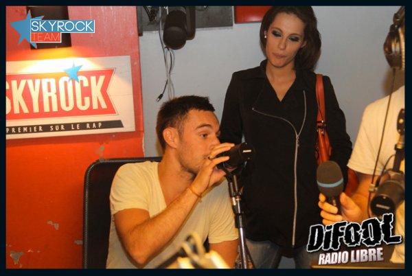 Radio Libre | Nikita Bellucci de passage dans l'émission !