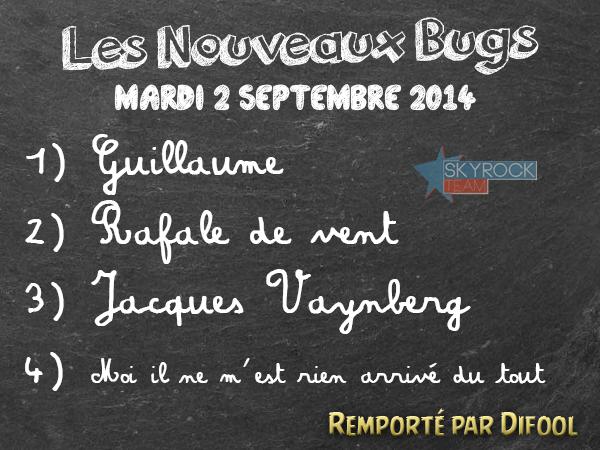 Radio Libre | Nouveaux Bugs - Mardi 2 Septembre