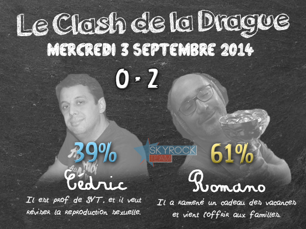 Radio Libre | Clash de la Drague - 3 septembre 2014