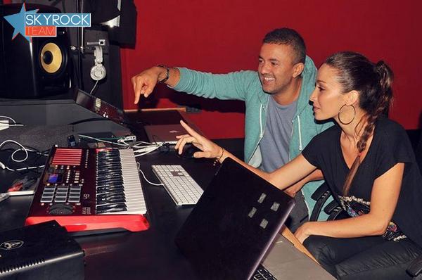Kenza Farah | En studio avec RedOne
