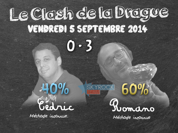Radio Libre | Clash de la Drague - 5 septembre 2014