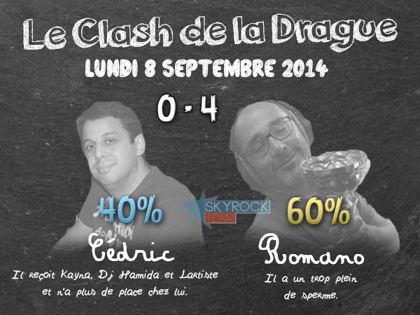 Radio Libre | Clash de la Drague - Lundi 8 septembre 2014
