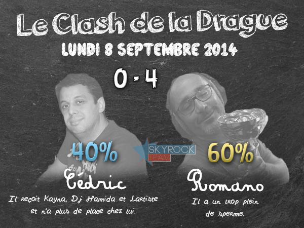 Radio Libre | Clash de la Drague - Lundi 8 septembre 2014