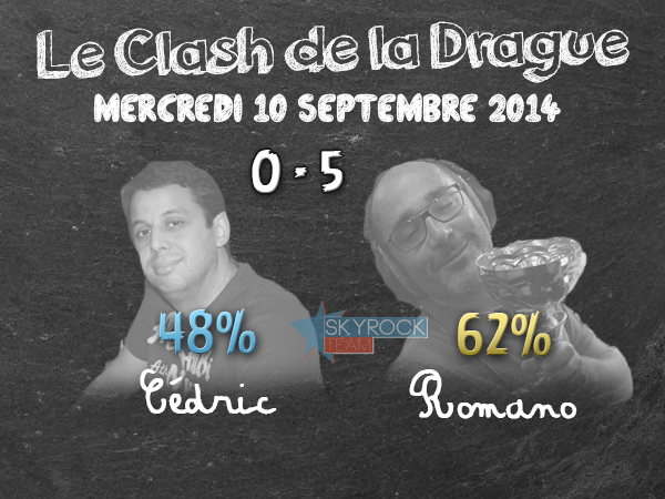 Radio Libre | Clash de la Drague - 10 septembre 2014