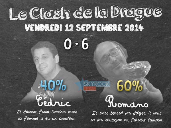 Radio Libre | Clash de la Drague - 12 septembre 2014
