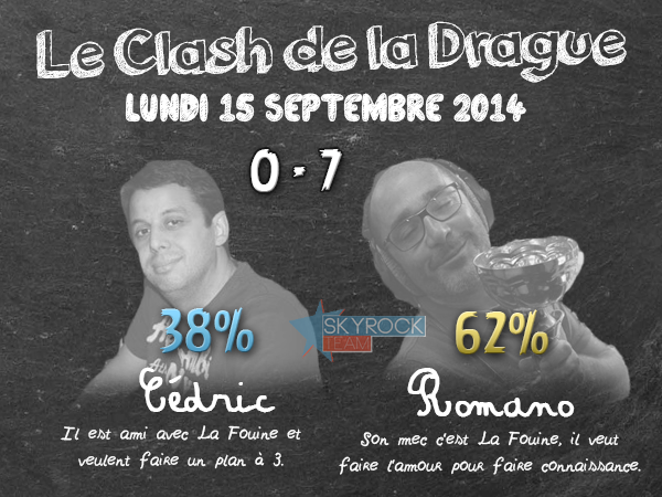 Radio Libre | Clash de la Drague - Lundi 15 septembre 2014