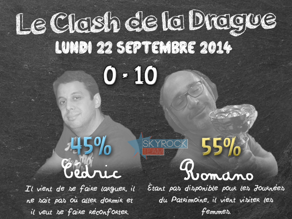 Radio Libre | Lundi 22 septembre 2014 - Clash de la Drague