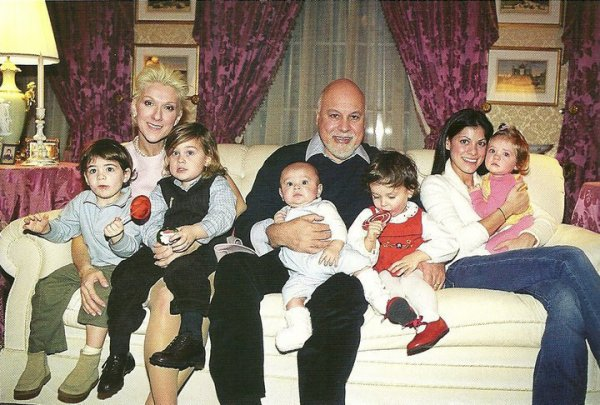 la famille angelil / dion