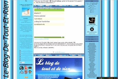 Interview de Le-Blog-De-Tout-Et-Rien