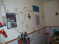 Mes décorations de Noel, le premier noel à cette appartement