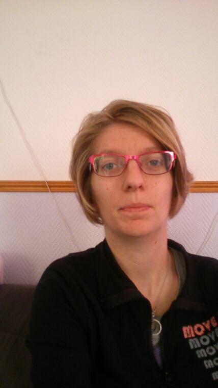 C'est mou avec ma nouvelle coupe de cheveux fait aujourd'hui