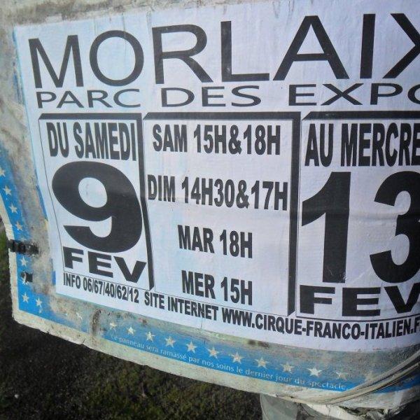 Cirque FRANCO ITALIEN - Direction Beautour à Morlaix - 2013