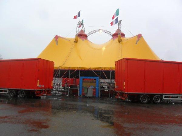 Cirque Franco Italien à Morlaix - 2013