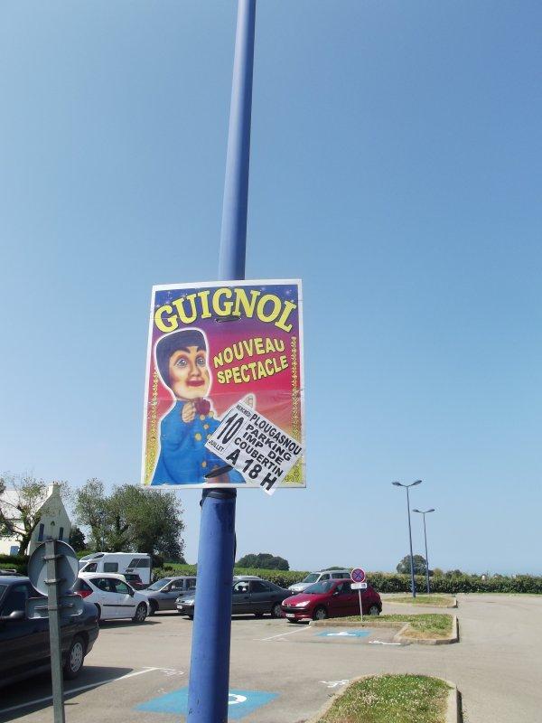 Reportage de l'été n°9 >> Guignol Klissing à Plougasnou